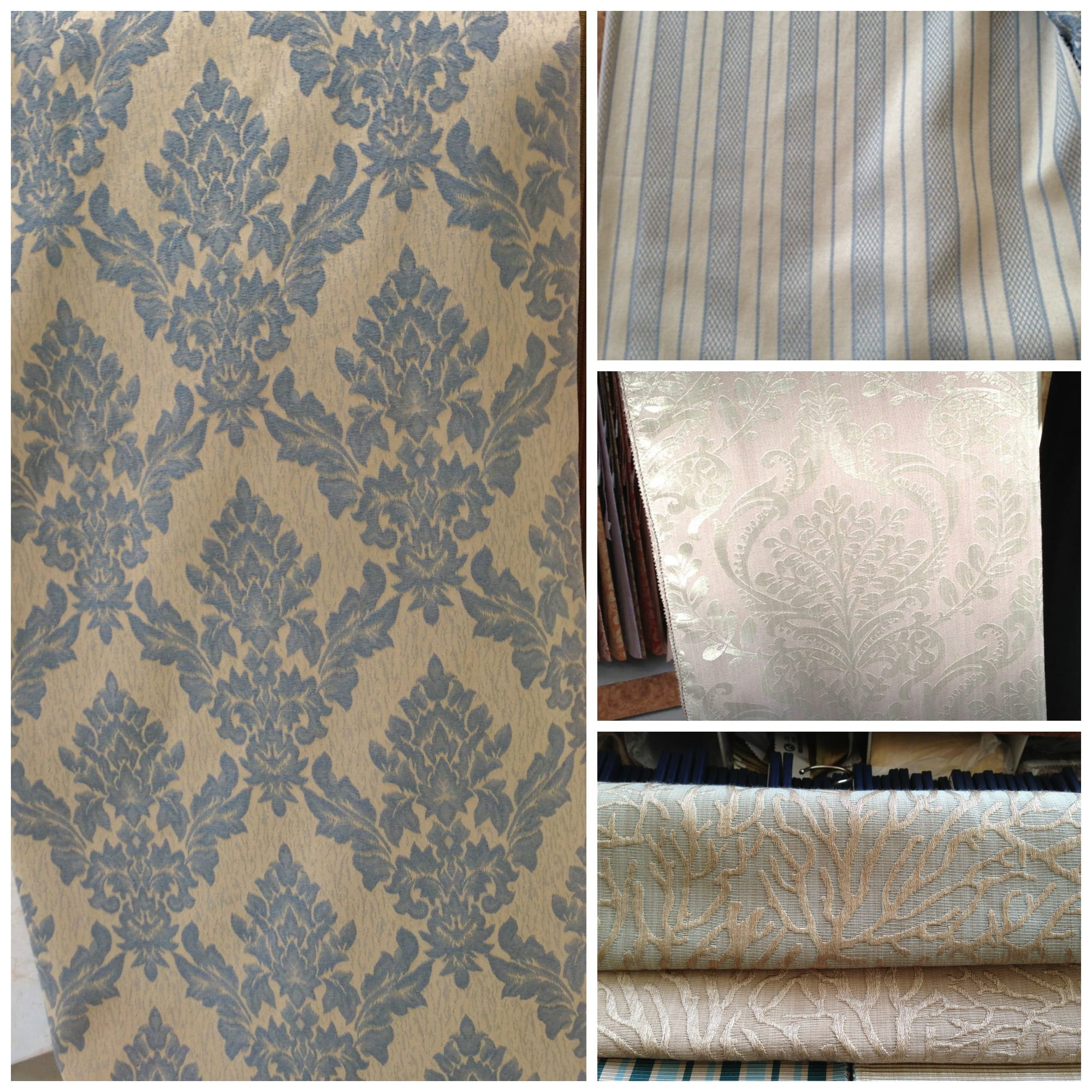 Fabric Choices Collage